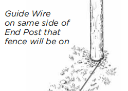 how to install a welded wire fence